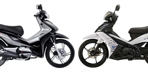 Yamaha Dan Honda Pernah Luncurkan Skutik Bebek, Sudah Tahu ?