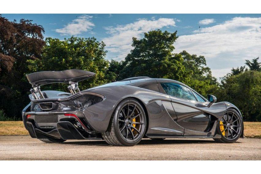 McLaren P1 Milik Jenson Button Dihargai 2,1 Juta Dollar