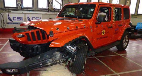 Jeep Wrangler Hanya Dapat 1 Bintang Uji Tabrakan