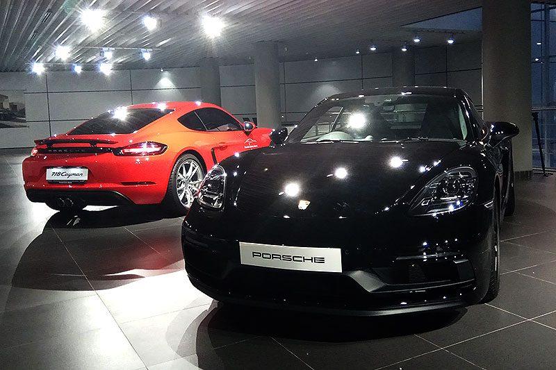 Porsche 718 Cayman GTS Resmi Rilis Di Indonesia