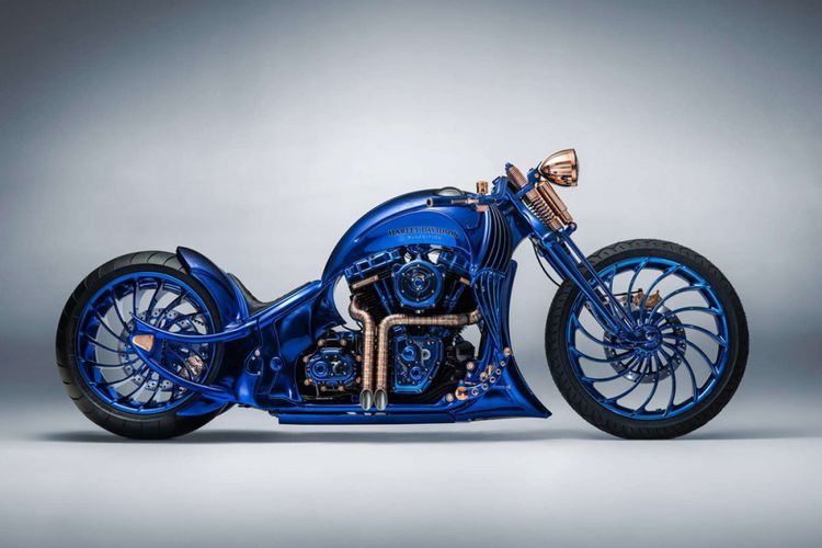 Harley Davidson Dengan Modifikasi Termahal