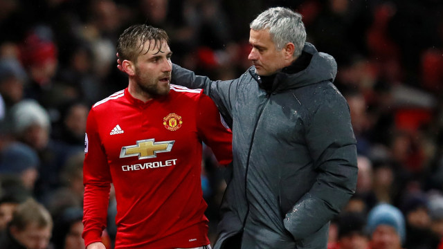 Luke Shaw Kritik Strategi Jose Mourinho di Manchester United