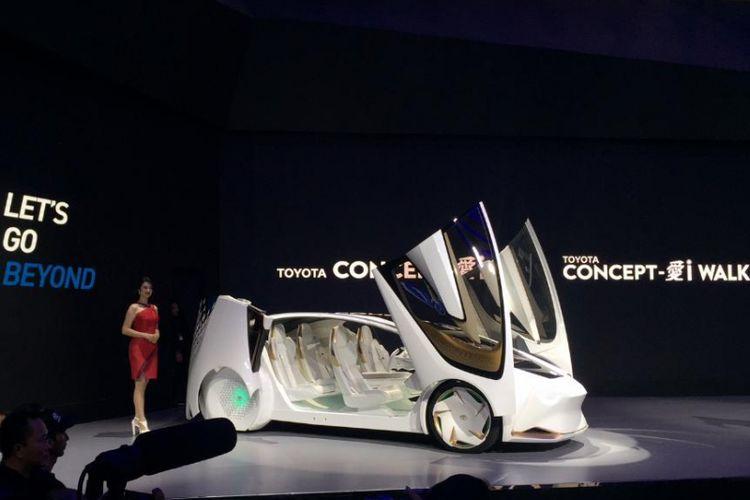 Toyota Perkenalkan Concept i dan Concept i Ride Di GIIAS 2018
