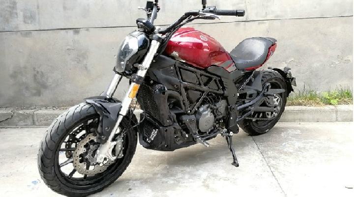 Benelli, Motor Dengan Citarasa Ducati Diavel Bermesin Leoncino