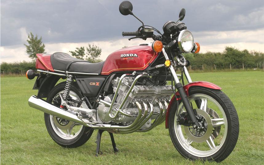 Honda CBX Yang Melegenda !
