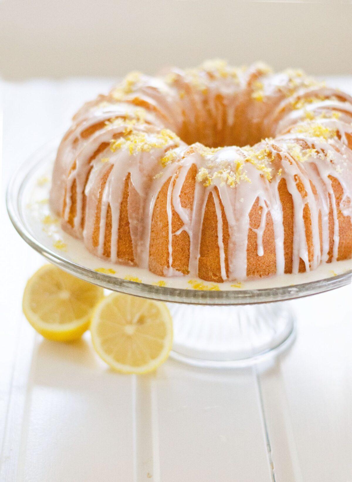 Resep Lemon Cake, Lembut Dan Enak